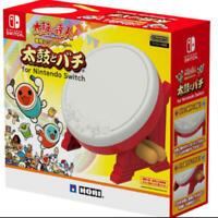 TAIKO NO TATSUJIN Drum & BACHI set Nintendo license HORI Nintendo Switch