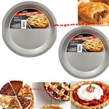 "Lot 2 Baking Pie Pans ~Pie, Pot Pies Quiche Tart (9"" USA Seller Free Shipping"