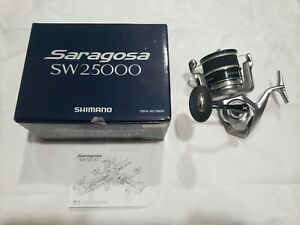 SHIMANO SARAGOSA 25000 SW SPINNING FISHING REEL **U.S. SELLER**