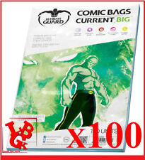 Pochettes Protection CURRENT BIG Size REFERMABLES comics VO x 100 Bags # NEUF #