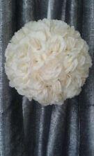 Boule de roses, de fleurs, ivoire Ø 30 cm décoration mariage ou vase martini