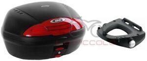 GIVI BAULETTO E450N + PIASTRA E344 + SCHIENALINO PIAGGIO BEVERLY 500 2005 - 2007