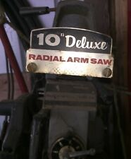 "Rockwell-Delta 10"" deluxe radial saw( buyer must pick up)"