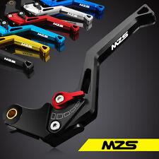 MZS Brake Clutch Levers Yamaha FJR1300 04-2019 SUPERTENERE//XT1200ZE 12-19 Red