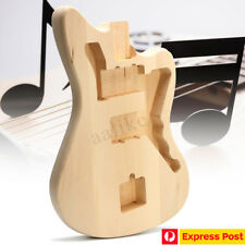 Solid Wood Unfinished Electric Basswood Guitar Body Gift For Jazzmaster Style