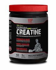 Supplements-GERMAN CREATINE STRENGTH & MASS PURE 300g- Increases Muscle Mass- 1B