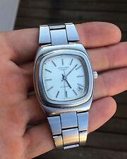 Vintage watch LONGINES automatic date television square tank  l890.1 montre