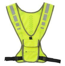 Reflective High-Vis Adjustable Running Safety Vest with phone pocket