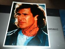 AUTOGRAPH ON 10 X 8 PHOTO MEL GIBSON LETHAL WEAPON MAD MAX BRAVEHEART ETC,