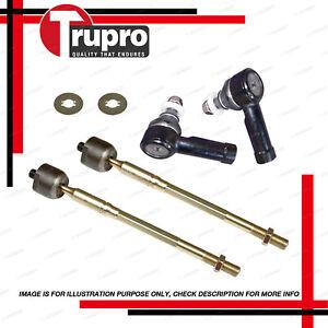 4 Pcs Tie Rod Rack End for HOLDEN Nova LE LF power steer 8/89-10/94
