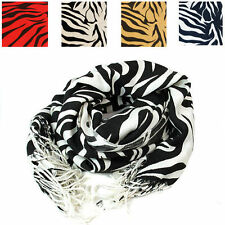 Unbranded Viscose/Rayon Striped Women's Scarves and Shawls