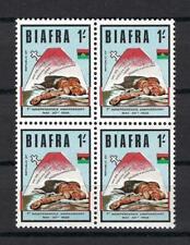 1968 Biafra Sc# 18 Victim of 1966 Nigeria pogrom block 4 Mnh