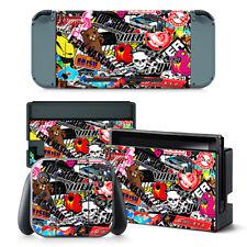 Sticker BOMB Nintendo Switch protettiva della pelle 4 Pc Adesivo Set - 0287