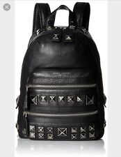 Black Marc Jacobs Recruit chipped Studs Leather Backpack NWOT $750