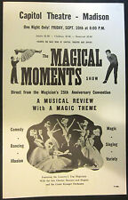The Magical Moments Show Window Card