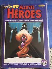 Marvel Heroes numero 50: Novela grafica de Los Inhumanos COMICS FORUM