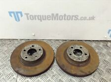 Subaru Impreza Turbo 2000 Front brake discs PAIR