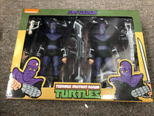 NECA TMNT Foot Soldier 2-Pack Set  Teenage Mutant Ninja Turtles SEALED