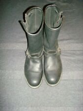 Carolina Boots Men's Size 12 W Wide Union Made in USA Engineer Biker Motorcycle