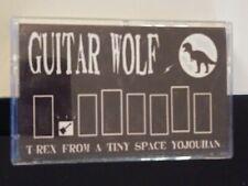 RARE!!! Guitar Wolf T Rex From a Tiny Space Cassette Japan punk rock rockabilly