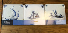 Delftware Design Set Of Coasters