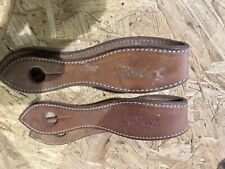 Used Authentic Clinton Anderson Slobber Straps