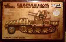 1/35 Great Wall sWS w/2cm Flakvierling w/Maybach Engine tamiya academy trumpeter