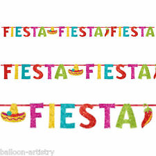 Wild West Mexican Fiesta Festivity Party Peppers Cutout Letter Banner Decoration