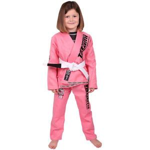 Tatami Fightwear Meerkatsu Kids Animal BJJ Gi - Pink
