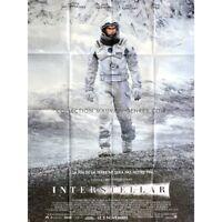 INTERSTELLAR Affiche de film 120x160 - 2014 - Matthew McConaughey, Christopher N