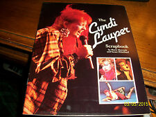 The Cyndi Lauper Scrapbook by Susan Mittelkauf and Marie Morreale (1986,...