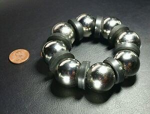 "One Huge Neodymium N52  Magnet Super Strong Rare Earth 1"" Sphere 7.5k Gauss!"