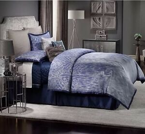 JLO Jennifer Lopez CENTER STAGE 4pc COMFORTER SET Size: QUEEN New SHIP FREE