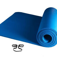 Extra Thick Yoga Mat Exercise Pad Workout Fitness Pilates Non Slip Eco Foam