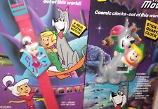 LOT 2 Vintage Jetsons Movie 1990 Watch Digital Plastic Elroy Judy Astro NEW MINT