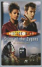 Doctor Who: Sting Of The Zygons BBC 2008 10th Doctor Novel Good Condition