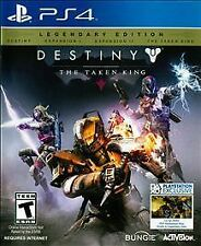 PS4 Destiny The Taken King Legendary Edition NEW Sealed Region Free USA game