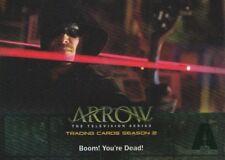 Cryptozoic Arrow Season 2 Green Foil Boom Your Dead Card #28