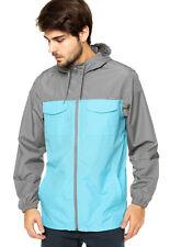 Oakley Stall Windbreaker Jacket 2XL Neon Yellow or Illumination Blue