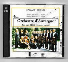 RARE DOUBLE 2 CD / ORCHESTRE D'AUVERGNE - MOZART , HAYDN / ARIE VAN BEEK
