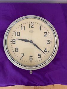 Vintage Metamec Electric Wall Clock, Beautiful Old Clock In Fabulous Condition