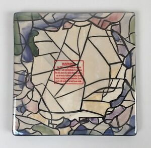 Blue Sky Clayworks Christmas Collection by Heather Goldminc Candle Trivet/Tile