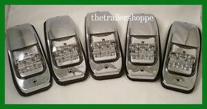 5 Kenworth Peterbilt Roof Cab Marker Light LED Clear
