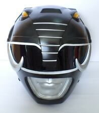 MIGHTY MORPHIN POWER RANGERS BLACK POWER RANGER HELMET COSTUME