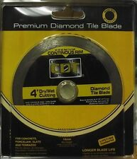 "Construction Diamond 92104020 4"" Premium Continuous Rim Diamond Saw Blade"