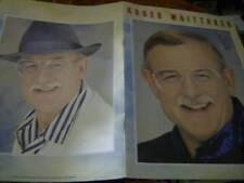 Roger Whittaker Celebration 1993 Tour Program Book