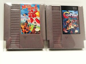 25 NES CARTRIDGE PROTECTORS Nintendo Clear Video Game Cases / Boxes Cart