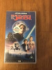 Star Wars Return of the Jedi 1995  VHS Video Tape Cassette-free post