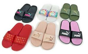 Puma Women's Cool Cat Athletic Casual Beach Pool Slides Comfy Fashion Sandals