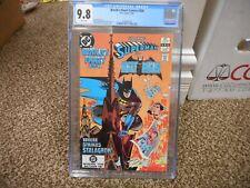 World's Finest Comics 290 cgc 9.8 Batman Superman DC 1983 WHITE pg NM MINT movie